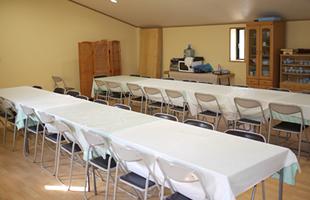 会食室兼宿泊室